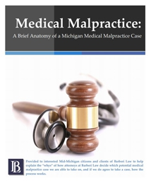 Medical Malpractice: A Brief Anatomy of a Michigan Medical Malpractice Case